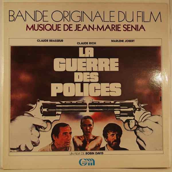 JEAN-MARIE SENIA - La Guerre Des Polices - LP