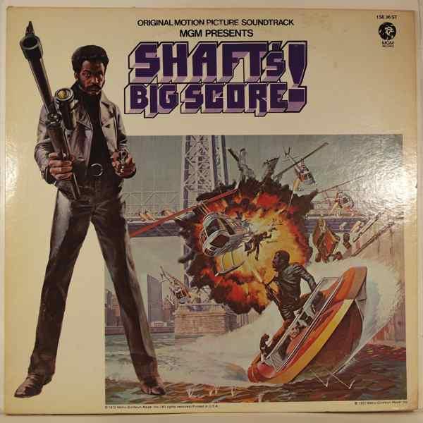 GORDON PARKS - Shaft's Big Score - LP