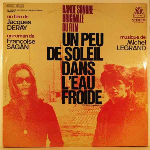 MICHEL LEGRAND - Un Peu De Soleil Dans L'Eau Froide - LP