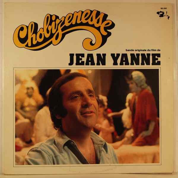 JEAN YANNE - Chobizenesse - 33T