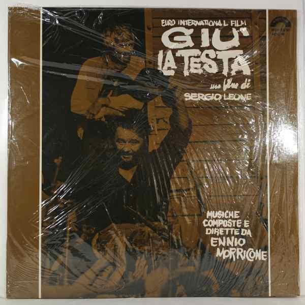 ENNIO MORRICONE - Giu' La Testa - 33T