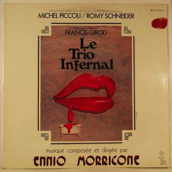 ENNIO MORRICONE - Le Trio Infernal - LP