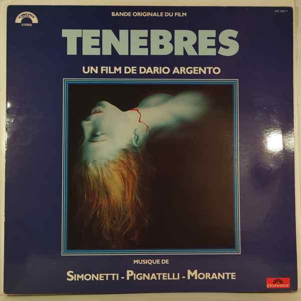 SIMONETTI - PIGNATELLI - MORANTE - Tenebres - 33T