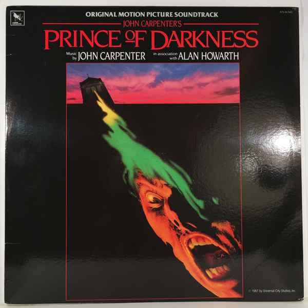 JOHN CARPENTER - Prince Of Darkness - 33T