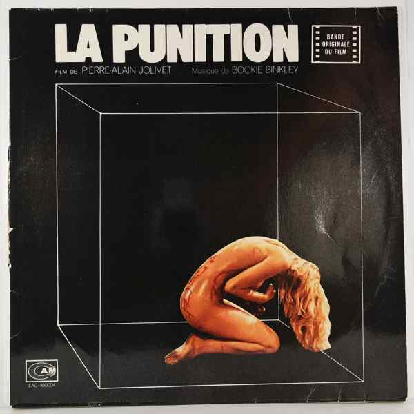 BOOKIE BINKLEY - La Punition - 33T