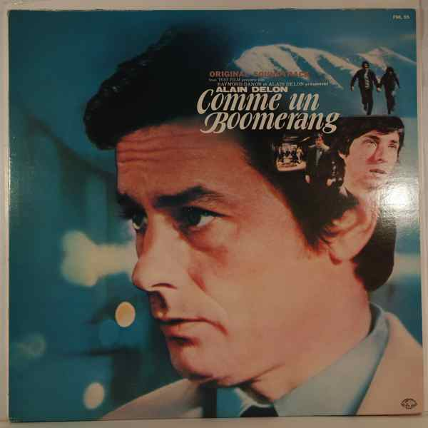 GEORGES DELERUE - Comme Un Boomerang - LP