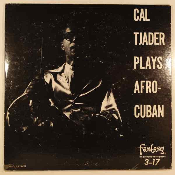 CAL TJADER QUINTET - Cal Tjader Plays Afro-Cuban - 10 inch