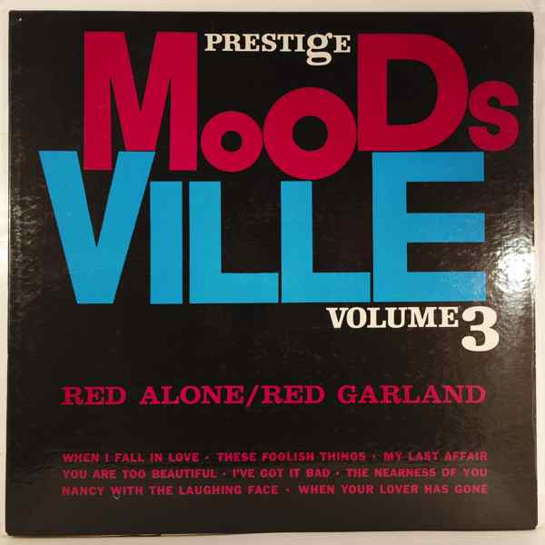 RED GARLAND - Red Alone - LP