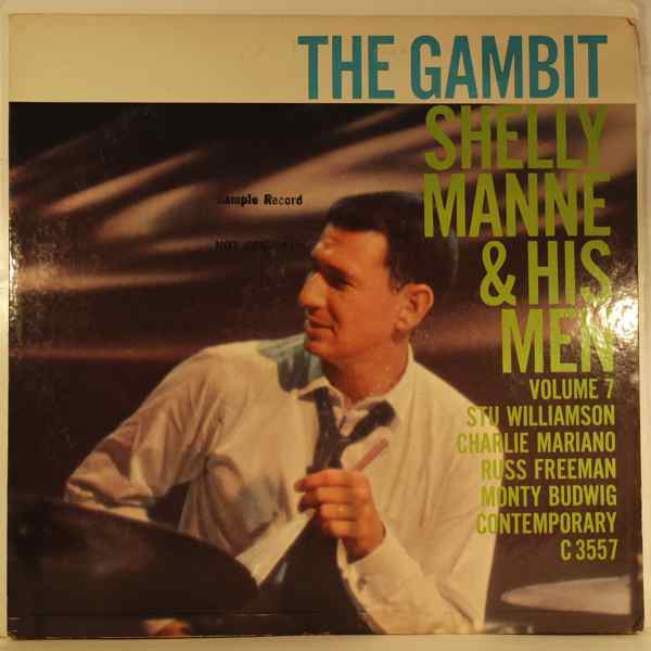 SHELLY MANNE & HIS MEN - The Gambit - LP
