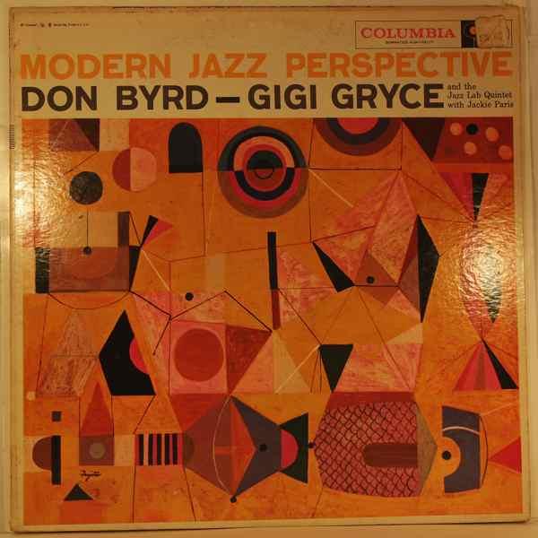 DON BYRD - GIGI GRYCE AND THE JAZZ LAB QUINTET - Modern Jazz Perspective - LP