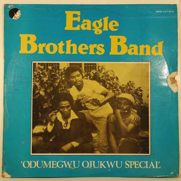 EAGLE BROTHERS BAND - Odumegwu ojukwu special - LP