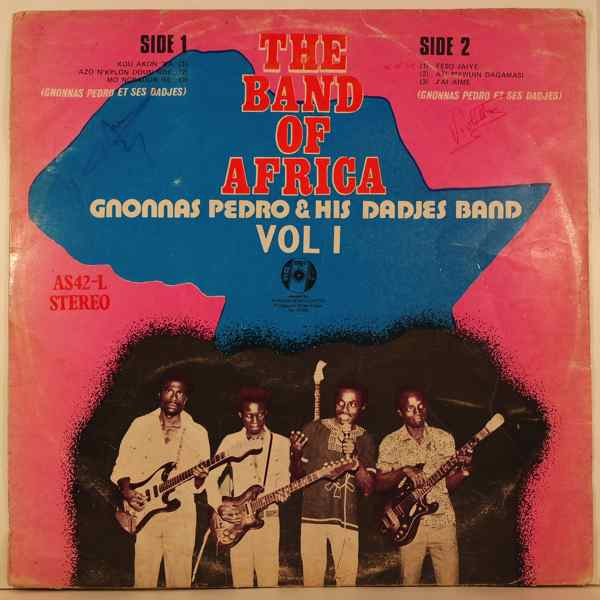 GNONNAS PEDRO & HIS DADJES BAND - Vol. 1 - 33T
