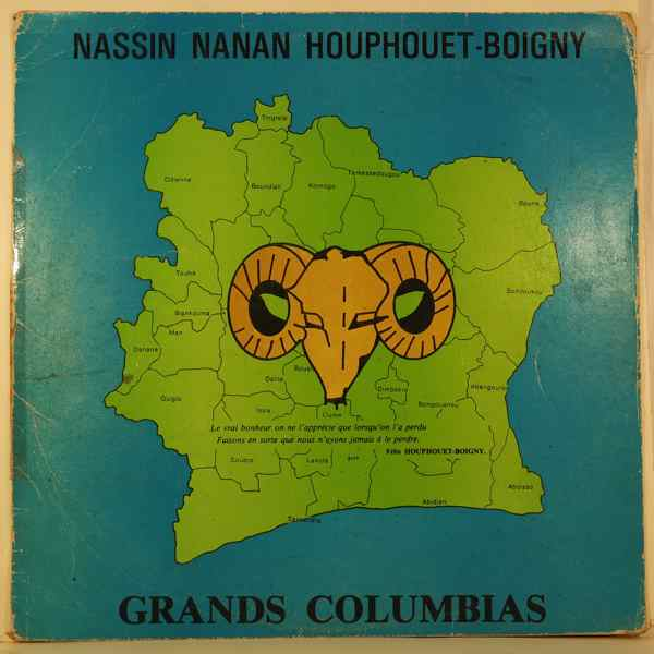 GRANDS COLOMBIAS - Nassin nanan houphouet boigny - LP