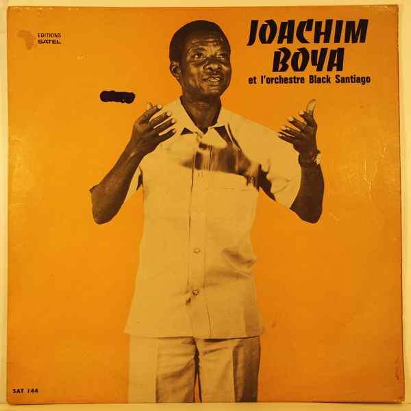 JOACHIM BOYA ET L'ORCHESTRE BLACK SANTIAGO - Same - LP