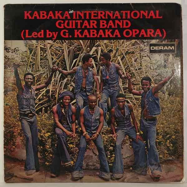 KABAKA INTERNATIONAL GUITAR BAND - Same - LP