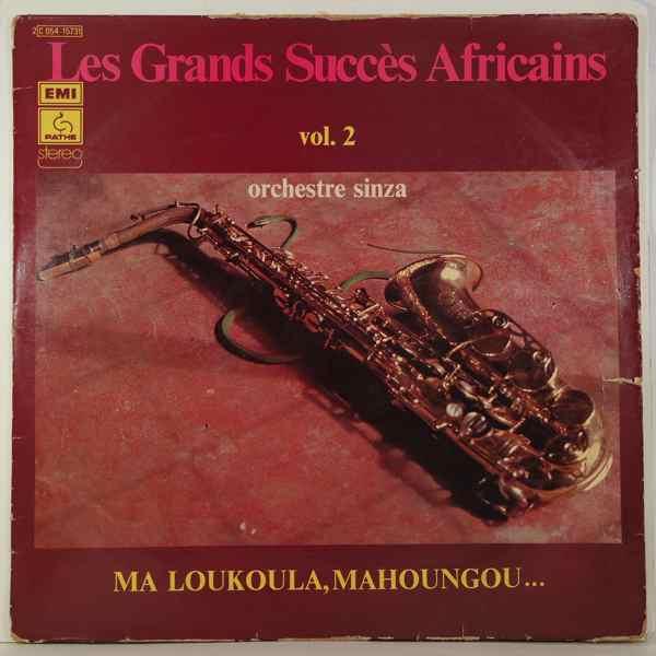 ORCHESTRE SINZA - Les Grands succes Africains vol.2 - LP