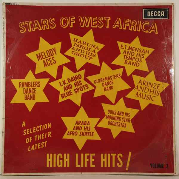 VARIOUS - Stars Of West Africa Volume 2 - 33T