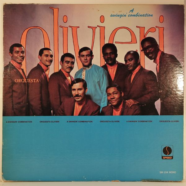 ORQUESTA OLIVIERI - A Swinging Combination - LP