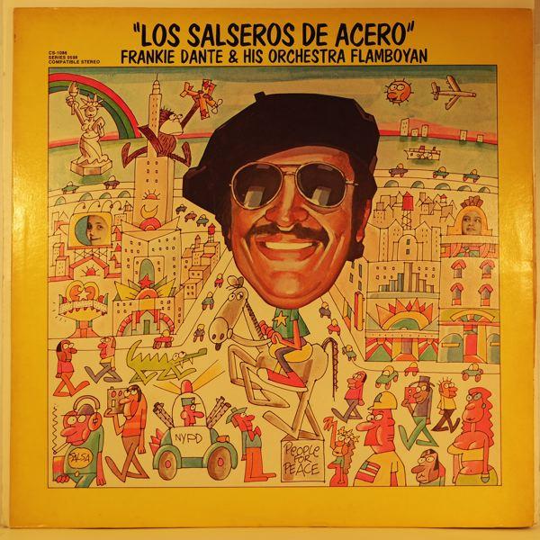 FRANKIE DANTE & HIS ORCHESTRA FLAMBOYAN - Los Salseros De Acero - LP