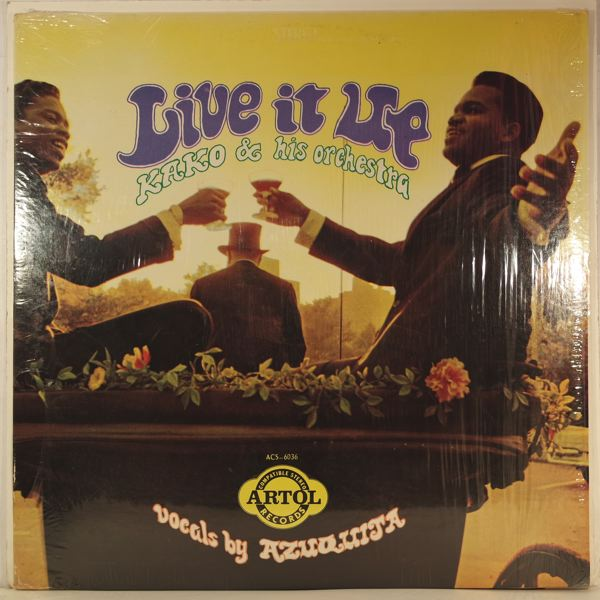 KAKO & HIS ORCHESTRA - Live It Up - LP