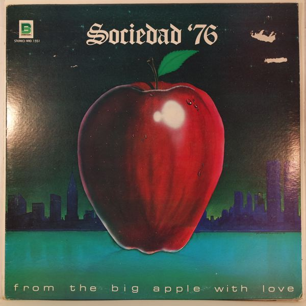 SOCIEDAD '76 - From The Big Apple With Love - LP