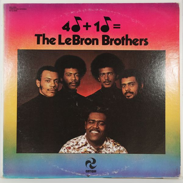 THE LEBRON BROTHERS - 4+1= - LP