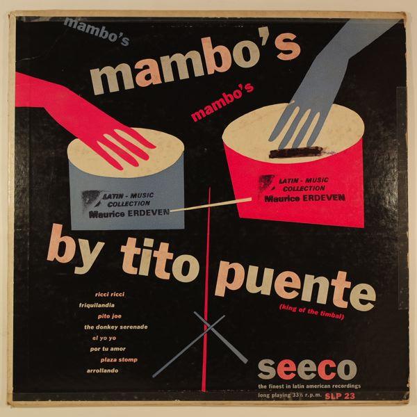 TITO PUENTE - Mambo's By Tito Puente - 10 inch