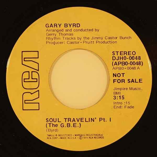 GARY BYRD - Soul travelin' - 7inch (SP)