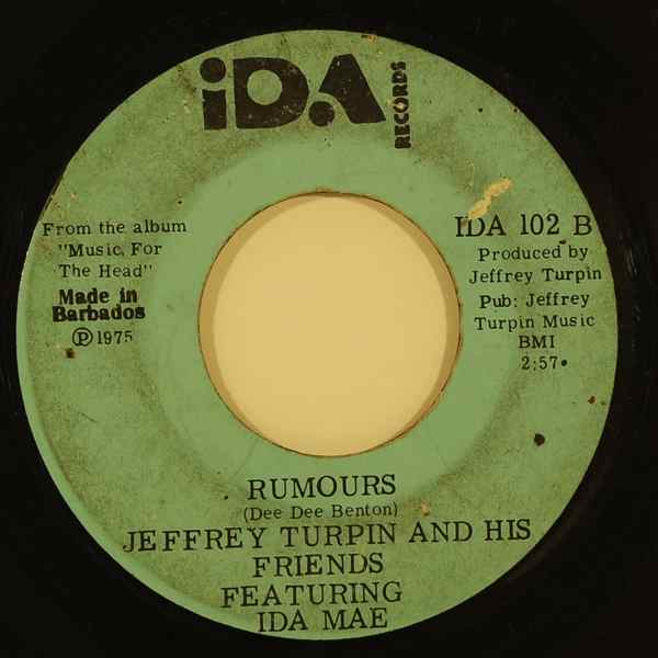 JEFFREY TURPIN AND HIS FRIENDS - Rumours - 7inch (SP)