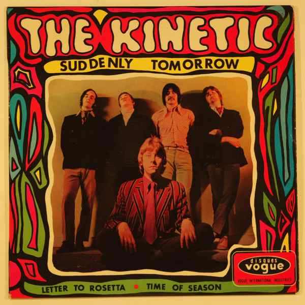 THE KINETIC - Suddenly tomorrow - 7inch (SP)
