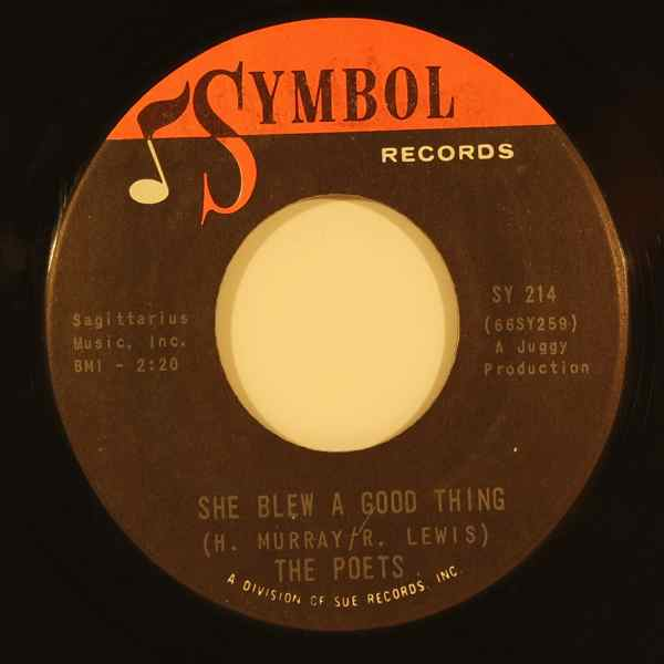 THE POETS - She blew a good thing - 7inch (SP)