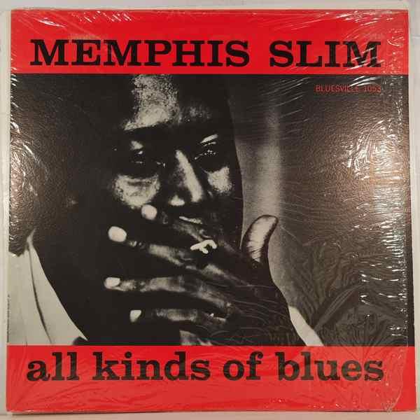 MEMPHIS SLIM - All Kinds Of Blues - LP