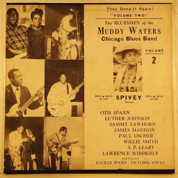 THE BLUESMEN OF THE MUDDY WATERS CHICAGO BLUES BAN - Volume 2 - LP