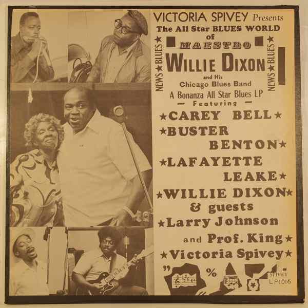 WILLIE DIXON - Victoria Spivey Presents The All Star Blues World Of Maestro Willie Dixon - LP