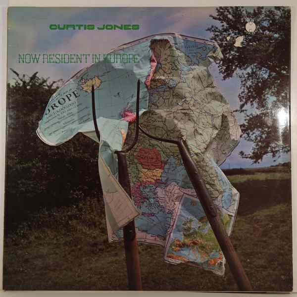 CURTIS JONES - Now Resident In Europe - LP