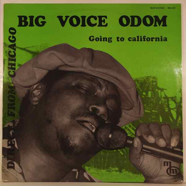 Big Voice Odom Going To California
