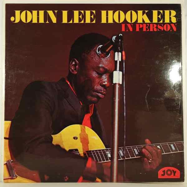 JOHN LEE HOOKER - In Person - LP