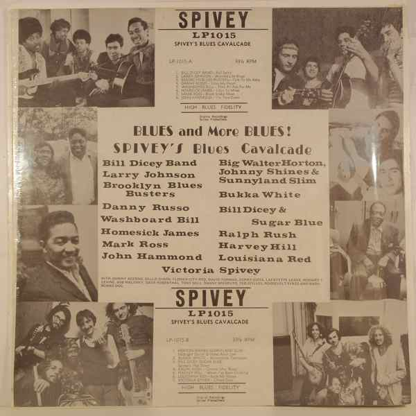 VARIOUS - Spivey's Blues Cavalcade - LP