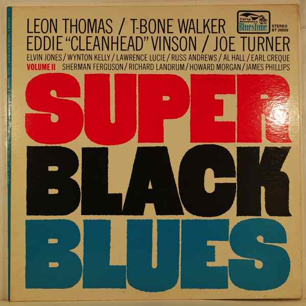 VARIOUS - Super Black Blues Volume II - LP