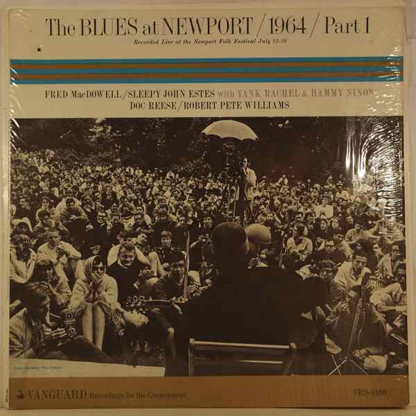 VARIOUS - The Blues At Newport, 1964, Part 1 - LP
