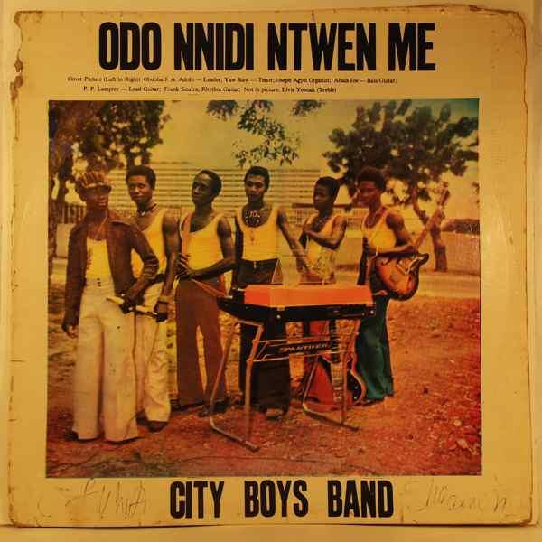 CITY BOYS INTERNATIONAL BAND - Odo nnidi ntwen me - LP