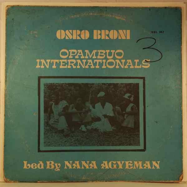 OPAMBUO INTERNATIONALS - Osro broni - LP