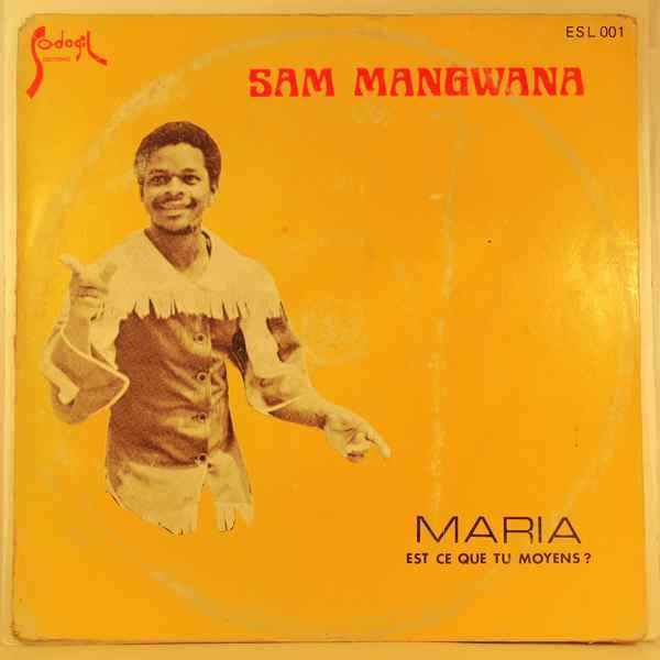SAM MANGWANA - Est-ce que tu moyens? - LP