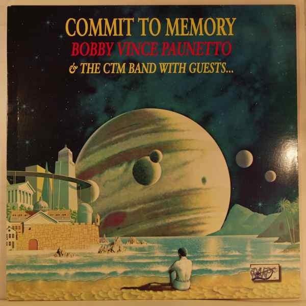 BOBBY VINCE PAUNETTO - Commit To Memory - LP