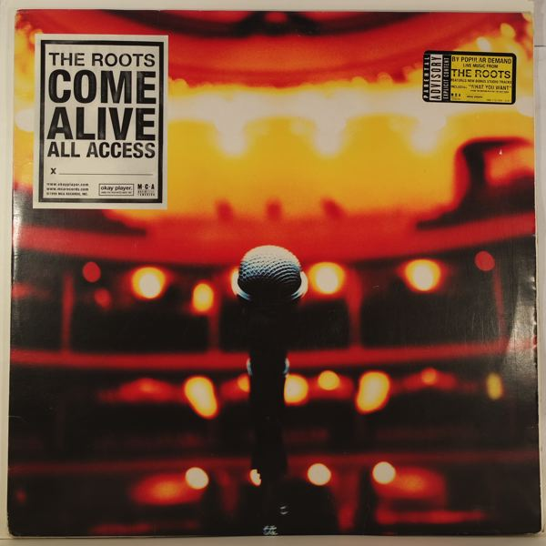 THE ROOTS - The Roots Come Alive - LP x 2