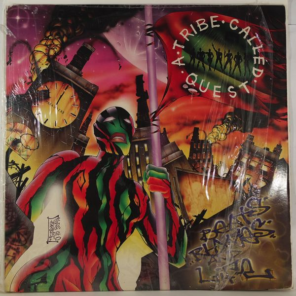 A TRIBE CALLED QUEST - Beats, Rhymes and Life - LP x 2
