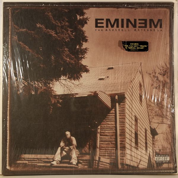 EMINEM - The Marshall Mathers LP - 33T x 2