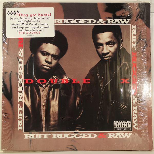 DOUBLE X - Ruff, Rugged & Raw - LP x 2