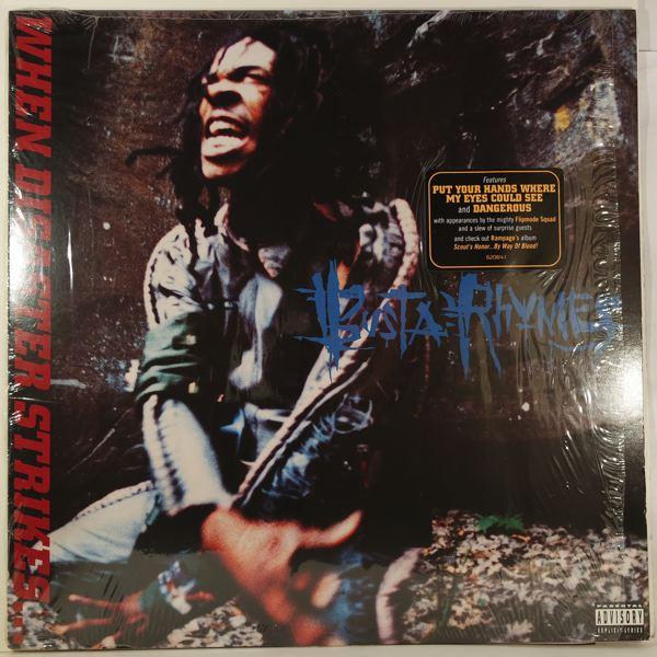 BUSTA RHYMES - When Disaster Strikes É - LP x 2