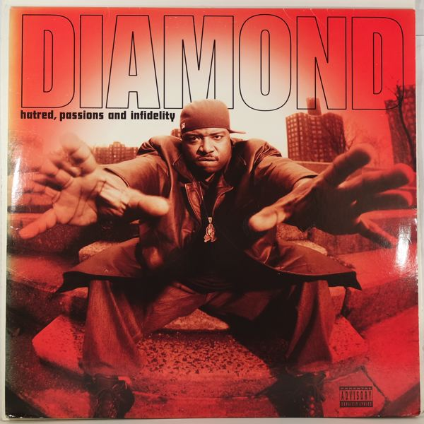 DIAMOND - Hatred, Passions And Infidelity - LP x 2